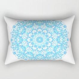 Mandala 12 / 1 eden spirit light blue turquoise Rectangular Pillow
