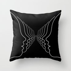 THE MANY Throw Pillow