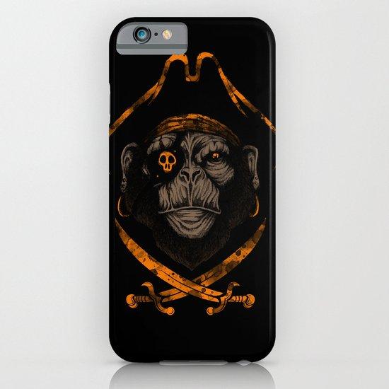 Captain sea monkey iPhone & iPod Case