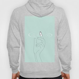 Touch somewhere deeper Hoody
