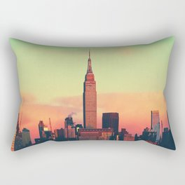 NYC Skyline Rectangular Pillow