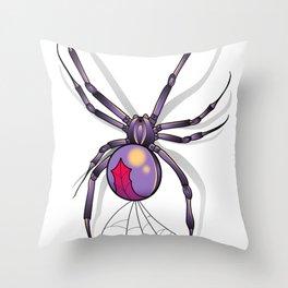 The Widow. Throw Pillow
