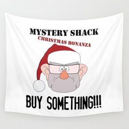 A Mystery Shack Christmas Wall Tapestry