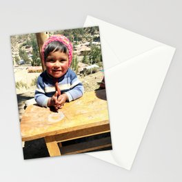 Peruvian Baby Stationery Cards