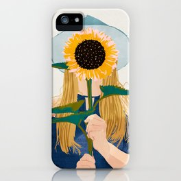 Miss Sunflower || iPhone Case