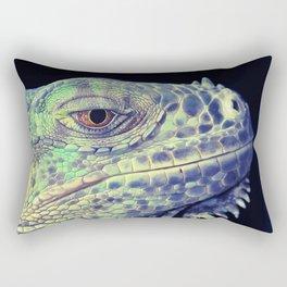 lizart dragon head Rectangular Pillow