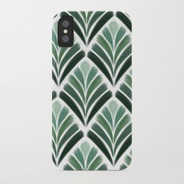 Art Deco Palm  iPhone Case