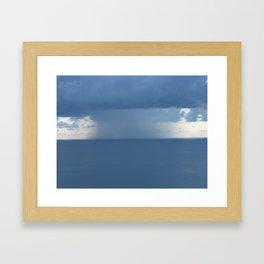 Rainstorm Framed Art Print