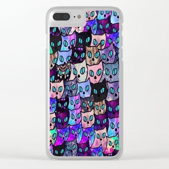cat-64 Clear iPhone Case