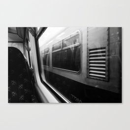 Surface Tension: Commute to City Centre Canvas Print