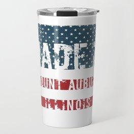 Made in Mount Auburn, Illinois Travel Mug