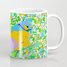 PEACOCK PAINTERLY PARADISE Coffee Mug