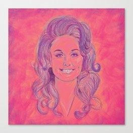 Queen Dolly Canvas Print