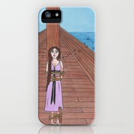 Sing for me! iPhone Case