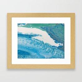 Calming Waters Framed Art Print