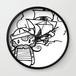 Set sail Wall Clock