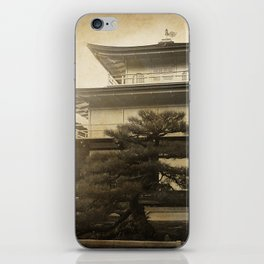 Golden Temple Kyoto iPhone Skin