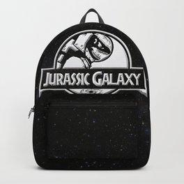 Jurassic Galaxy - White Backpack