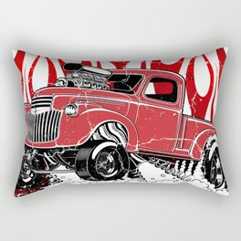Live to Rod 46' Gasser - Distressed rev Rectangular Pillow