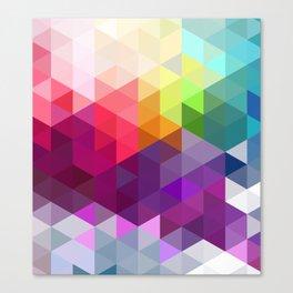 Pixel Prism Canvas Print