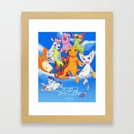 Digimon Tri Framed Art Print