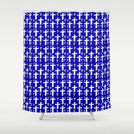 Jerusalem Cross 6 Shower Curtain