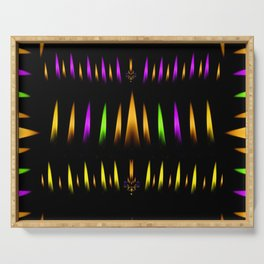 Fire works and calming down Serving Tray