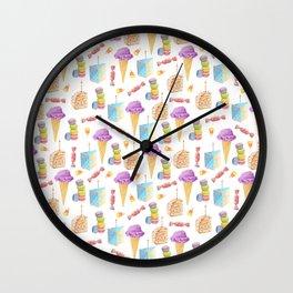 Birthday Girl Pattern Wall Clock