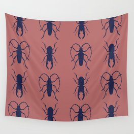 Beetle Grid V4 Wall Tapestry
