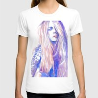 cara T-shirts featuring Cara by Ava Carmen