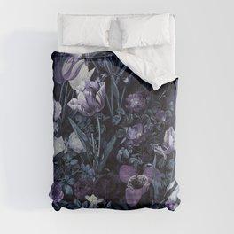 EXOTIC GARDEN - NIGHT XII Comforters