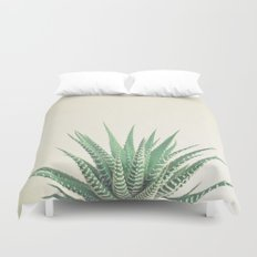 Haworthia Duvet Cover