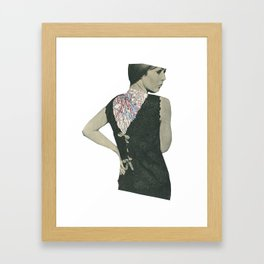 No Walk Over Framed Art Print
