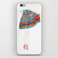boho iPhone & iPod Skins featuring Boho by Rayna Sevilla