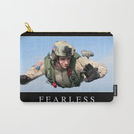 Fearless: Inspirational Quote and Motivational Poster Carry-All Pouch
