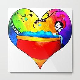 Rainbow relaxation Metal Print
