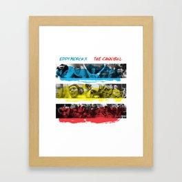 Eddy Merckx - The Cannibal Framed Art Print