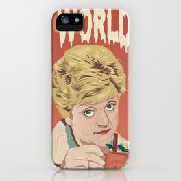 JESS IS SO WORLDLY iPhone Case