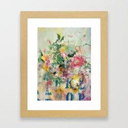 Bright Blossoms Framed Art Print