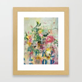 Bright Blossoms Framed Art Print