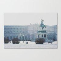 vienna Canvas Prints featuring Vienna by Karen
