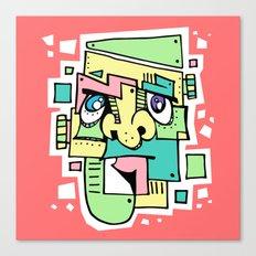 Pastelstein Canvas Print