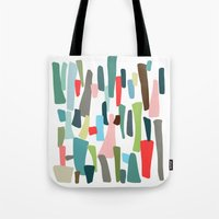 code Tote Bags featuring color code by frameless