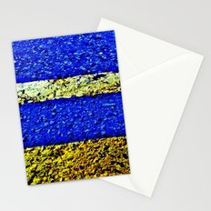 Mall Parking Lot 2 Stationery Cards