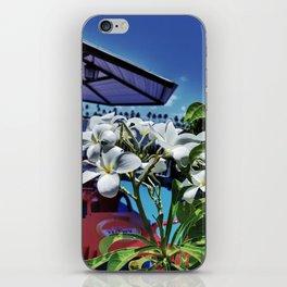 Plumeria in Brazil iPhone Skin