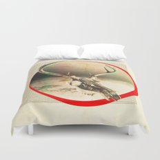 Coffee Will Stain Your Teeth Duvet Cover
