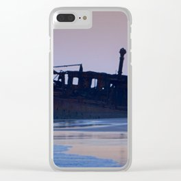 Fraser Shipwreck Clear iPhone Case