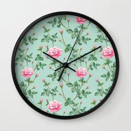 apple rose Wall Clock