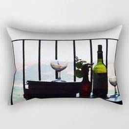 Spain View Rectangular Pillow