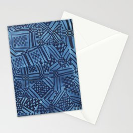 African Fabrics Stationery Cards